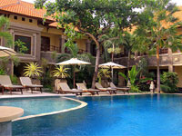 pool vie at adi jaya hotel