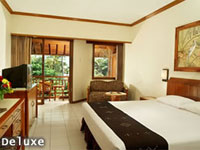 deluxe room at bali garden beach hotel