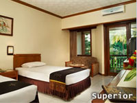 superior room at bali garden beach hotel