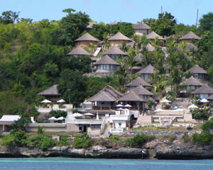 coconut resort di lembongan